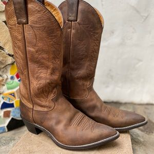 Justin Women's Leather Cowboy Boots
